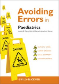 Avoiding errors in paediatrics